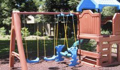 Photo of a Playground with Rubber Bark